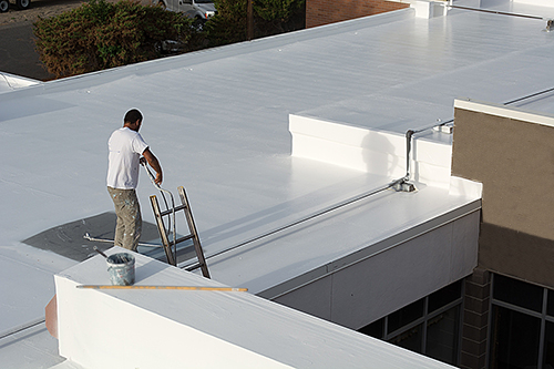 Commercial Roof Repair Tpo Roofing Rubber Roofing